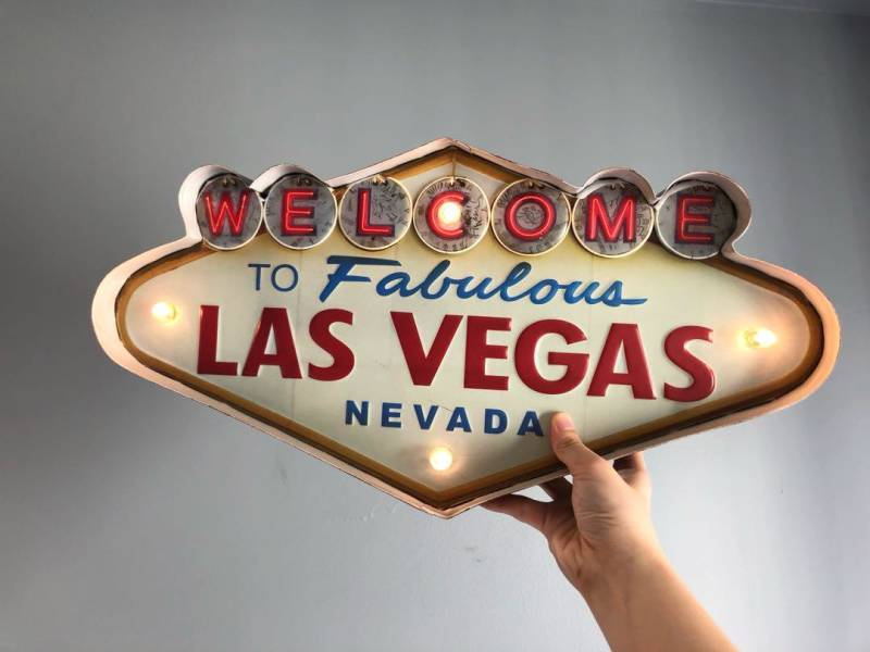 Las Vegas Welcome bord
