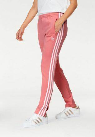Roze Adidas trainingsbroek