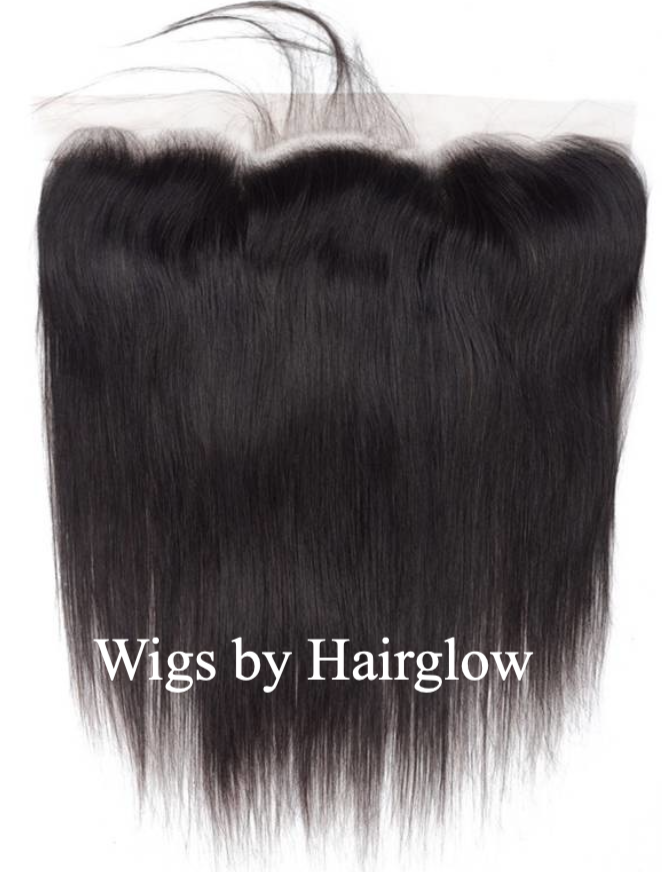 Lace frontal straight raw hair
