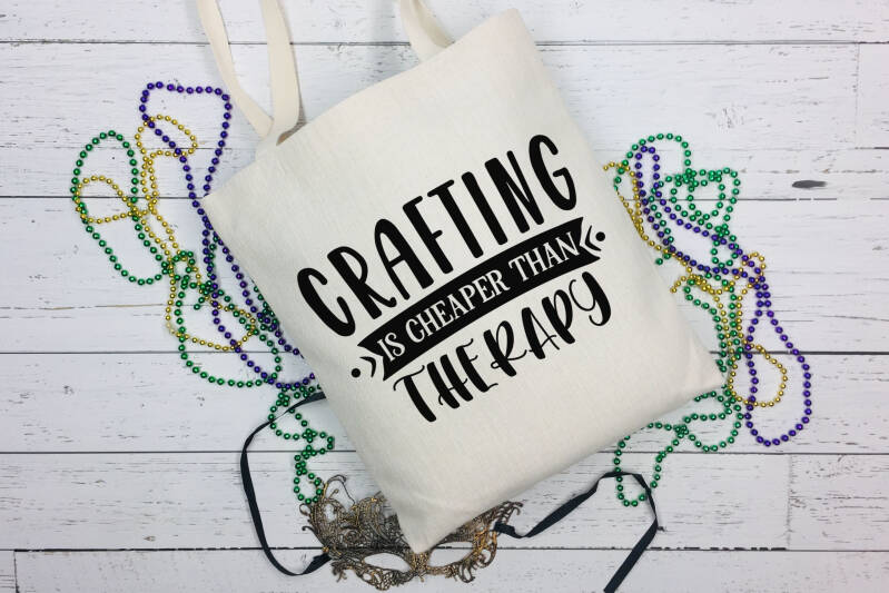 Canvas Tas Crafting Is Cheaper Than Therapy