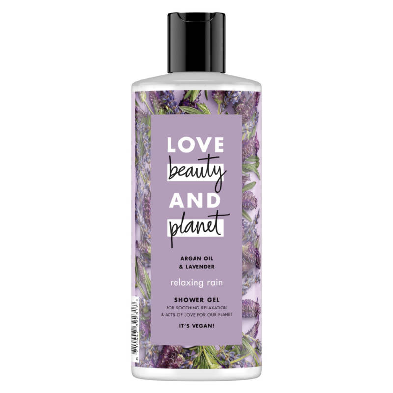 Argan oil & lavender showergel