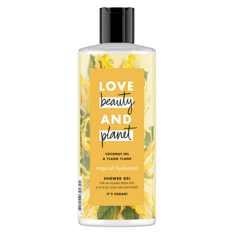 Coconut oil & ylang-ylang showergel