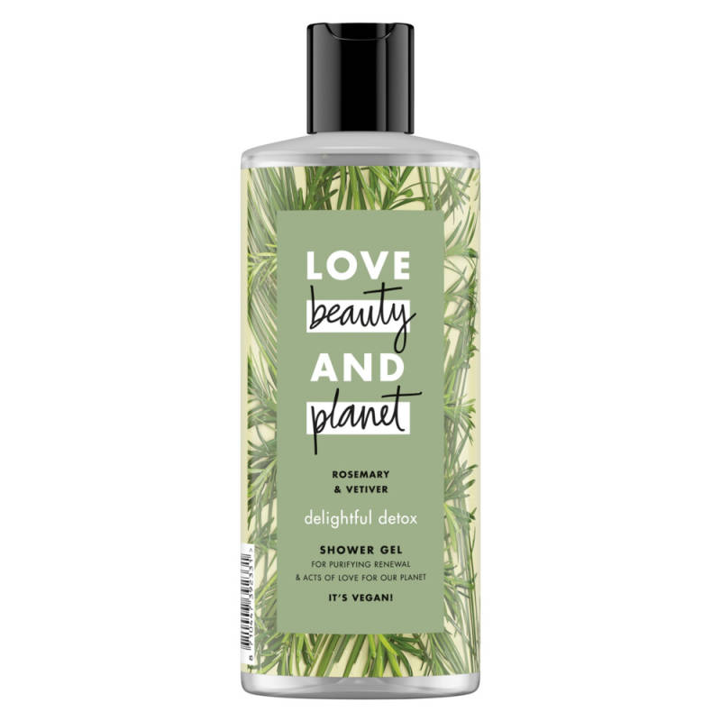 Rosemary & Vetiver Shower Gel