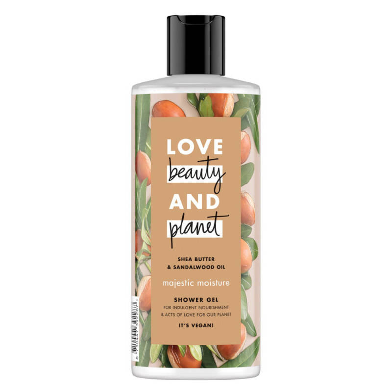 Shea Butter & Sandalwood Oil Shower Gel