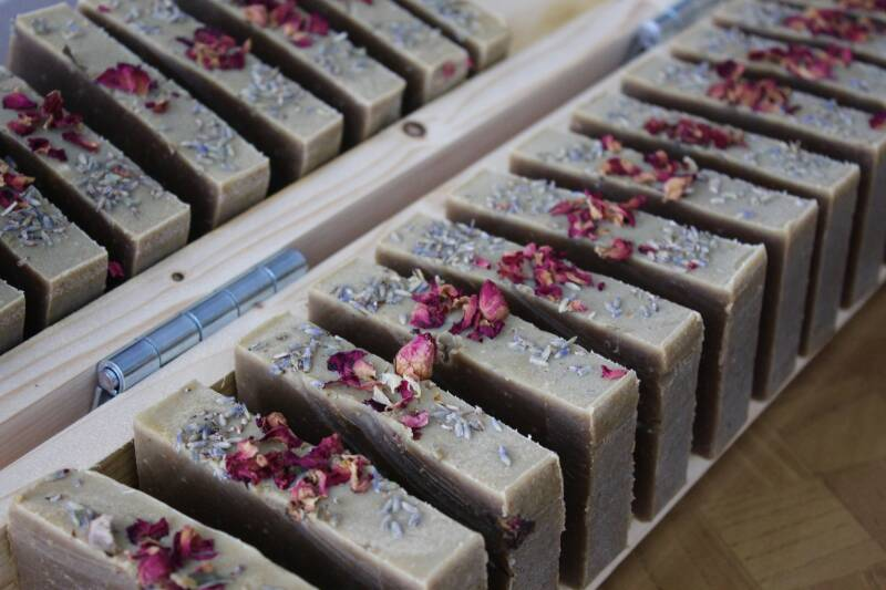 Qing Hao Traditional Chinese Medicine (TCM) Herbal soap: