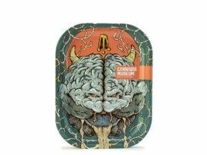 Cannabis Museum Angry Brain Rolling Trays