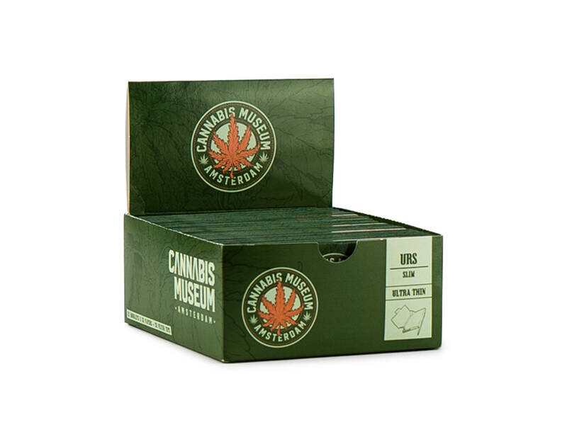 Cannabis Museum Rolling Papers Ultra Thin – Crest