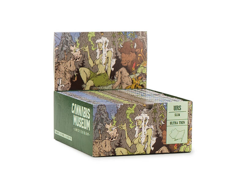 Cannabis Museum Rolling Papers Unbleached – Forest Girl