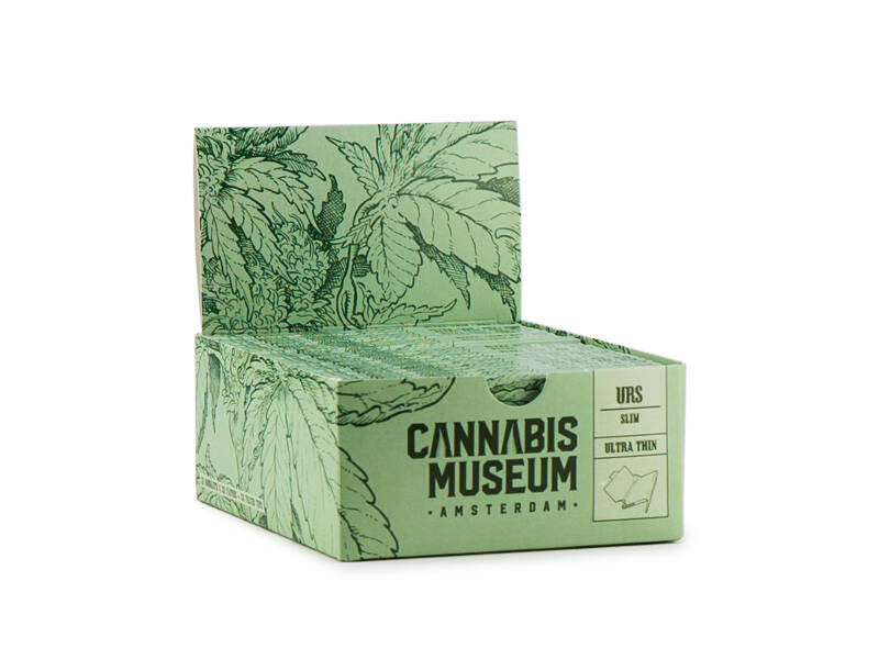 Cannabis Museum Rolling Papers Unbleached – Plant