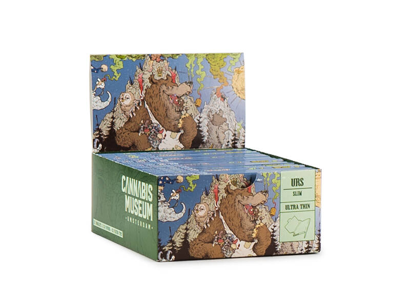Cannabis Museum Rolling Papers Unbleached – Forest Wall