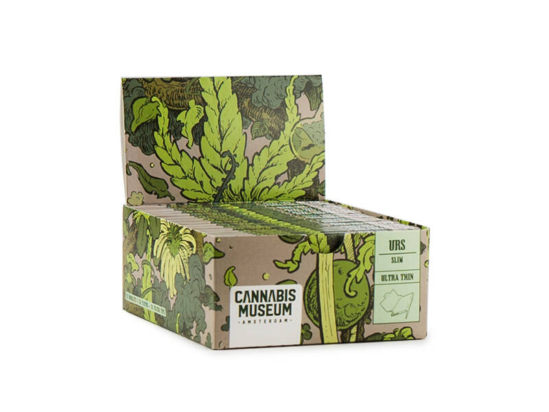 Cannabis Museum Rolling Papers Unbleached – Spiral