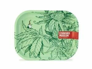 Cannabis Museum Plant Green Gnome Rolling Trays