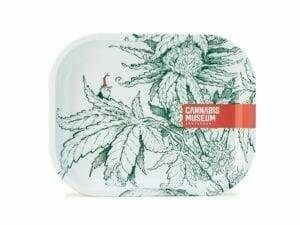 Cannabis Museum Plant White Gnome Rolling Trays