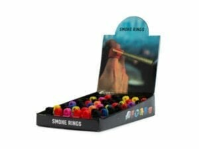 Smoking Rings 48 pcs display - universal size and mix colours