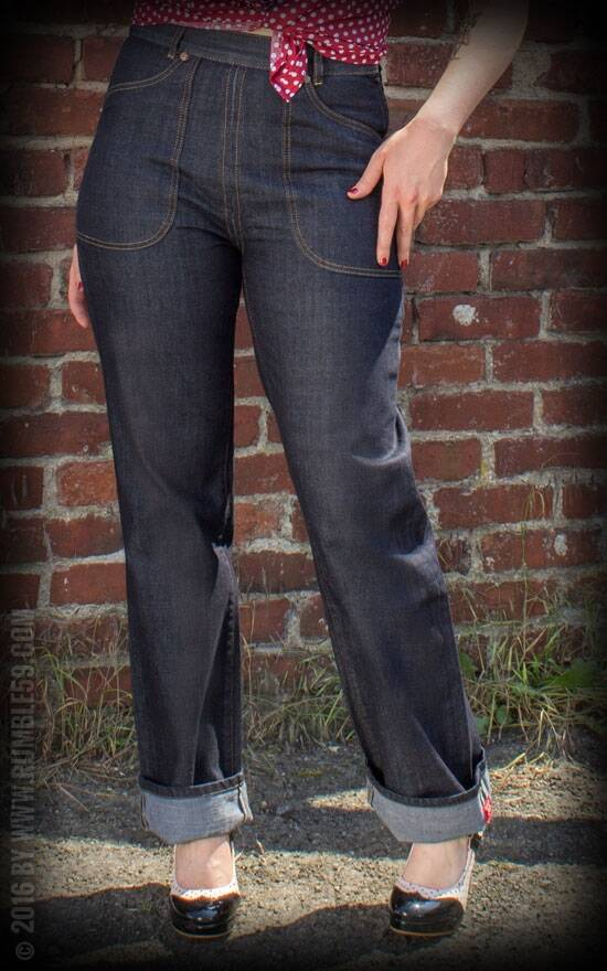 Restless Rosie Lady workers Jeans Rumble59
