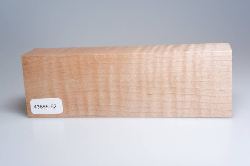 Curly Maple 158 x 34 x 50 mm, 43865-52