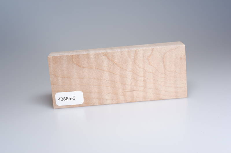 Curly Maple 123 x 24 x 50 mm, 43865-5