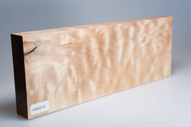 Quilted Maple 265 x 27 x 98 mm, 43865-67