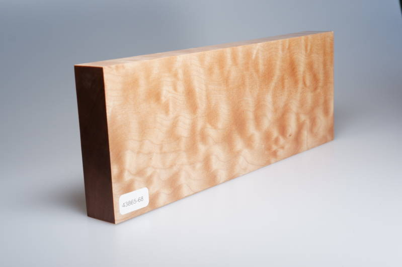 Quilted Maple 263 x 27 x 97 mm, 43865-68