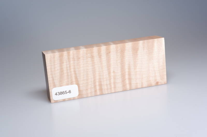 Curly Maple 122 x 22 x 49 mm, 43865-6
