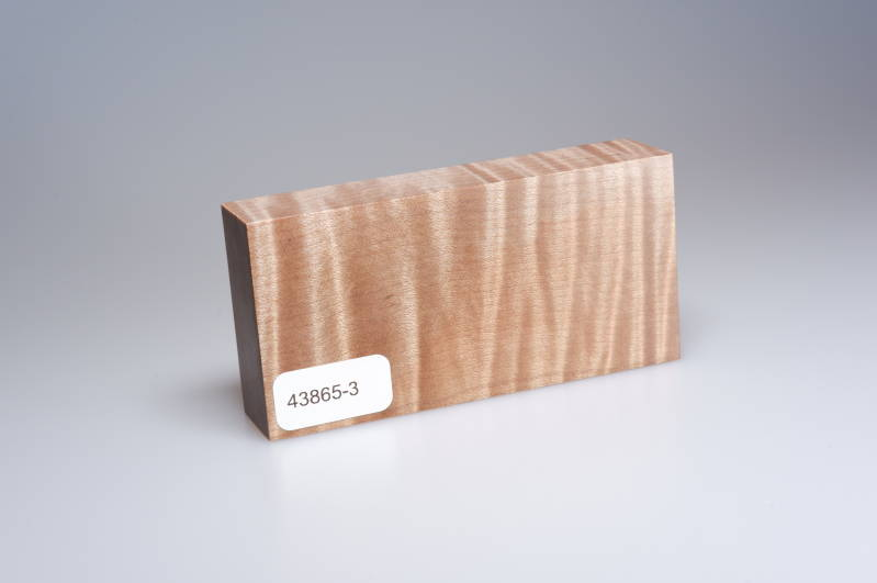 Curly Maple 96 x 22 x 47 mm, 43865-3