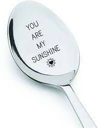 Koffielepel - You are My Sunshine