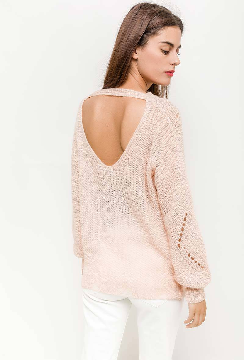 Pull roze one size