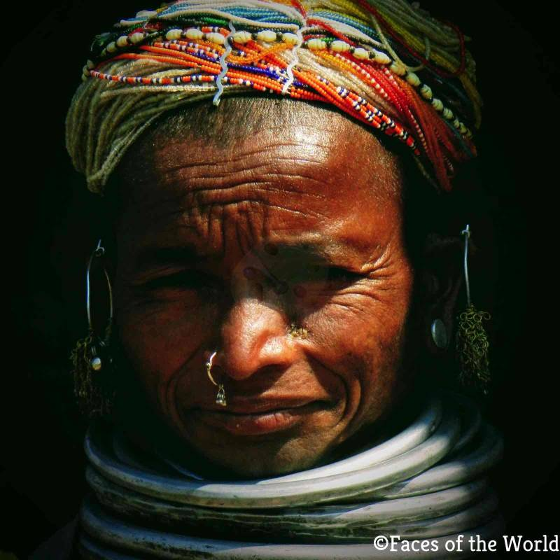 Tribal Lady, India