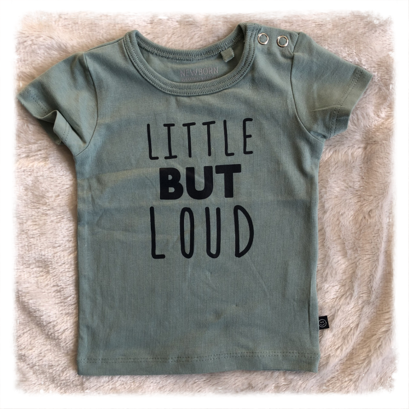 Shirtje 'Little but loud'