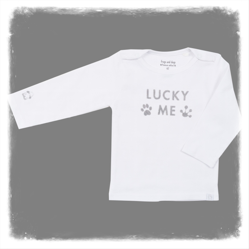 Frogs and Dogs shirtje Lucky Boys