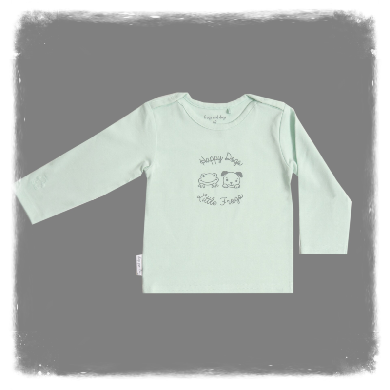 Frogs and Dogs shirtje mint