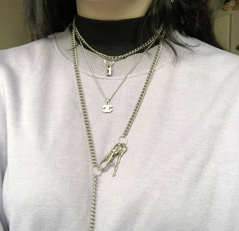 Lock / Key necklaces I