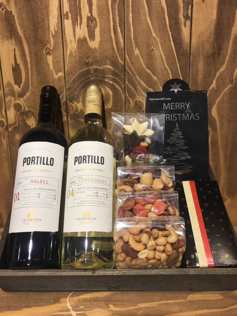 Kerstpakket Salentein wines Portillo