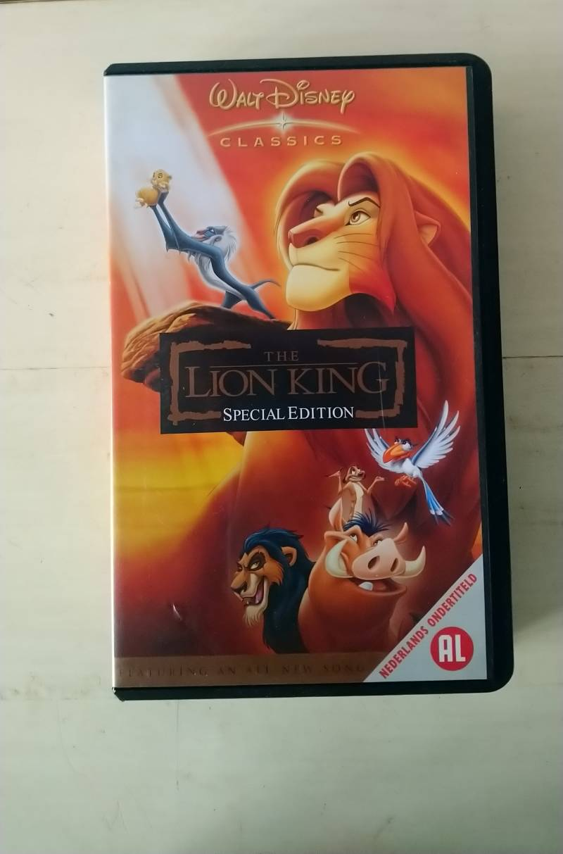 VHS The Lion King special edition Disney Engelstalig 2003