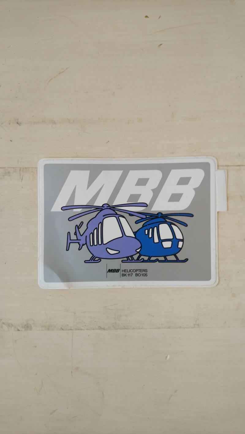 MBB Helicopters sticker