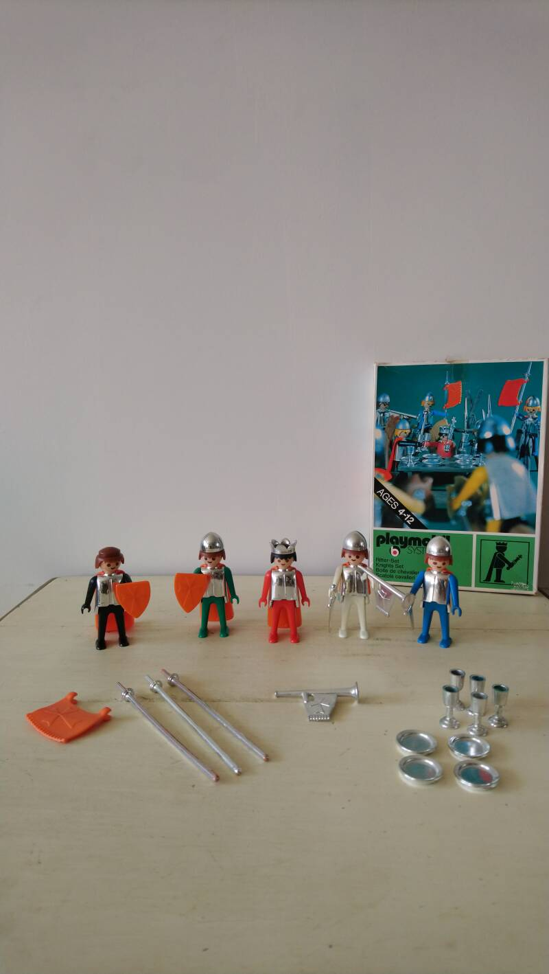 Vintage Playmobil System 3261 Ridder set 1974
