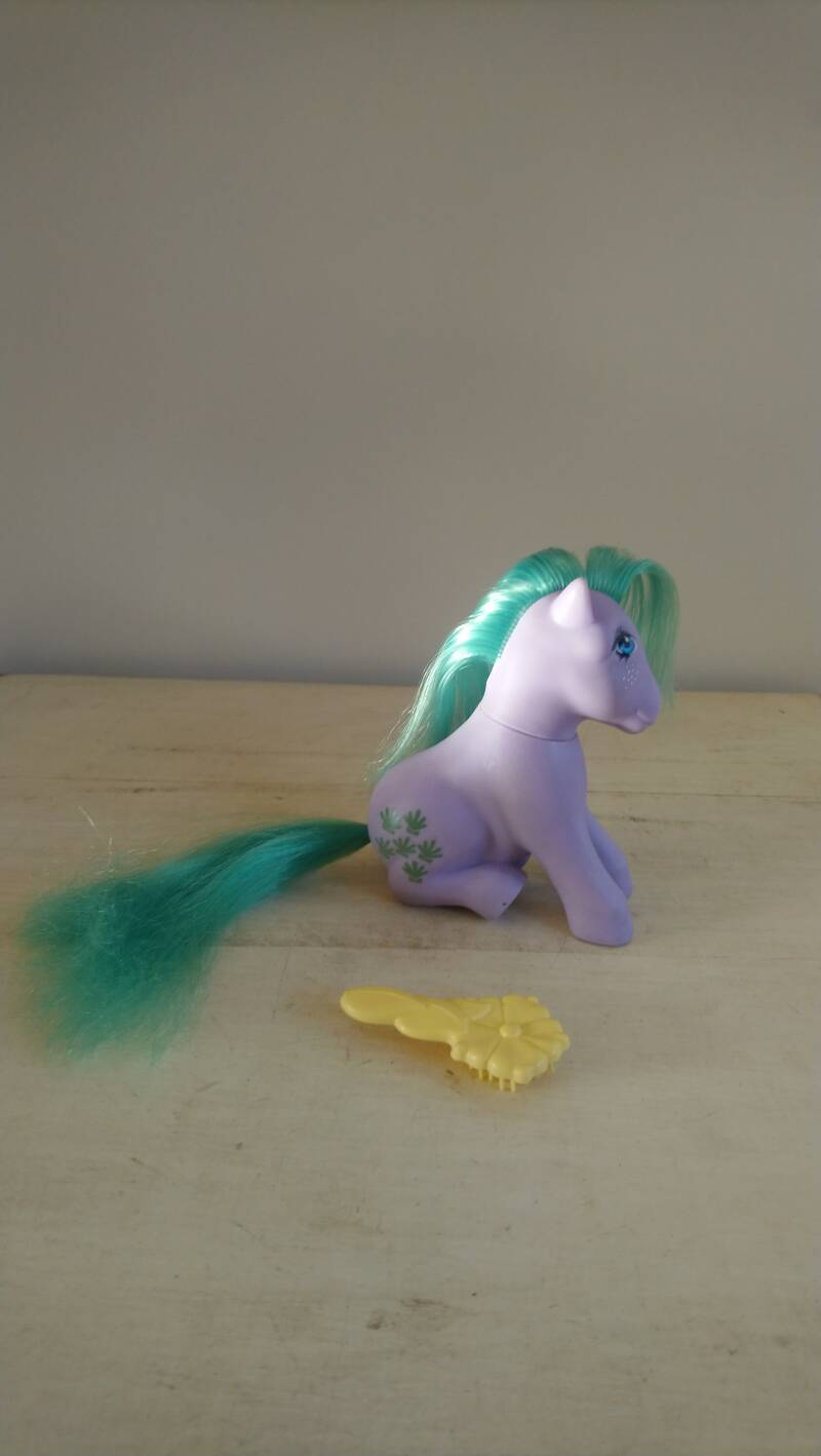 "Vintage My Little Pony G1 ""Seashell"" Earth Pony Hasbro 1983 Italy"