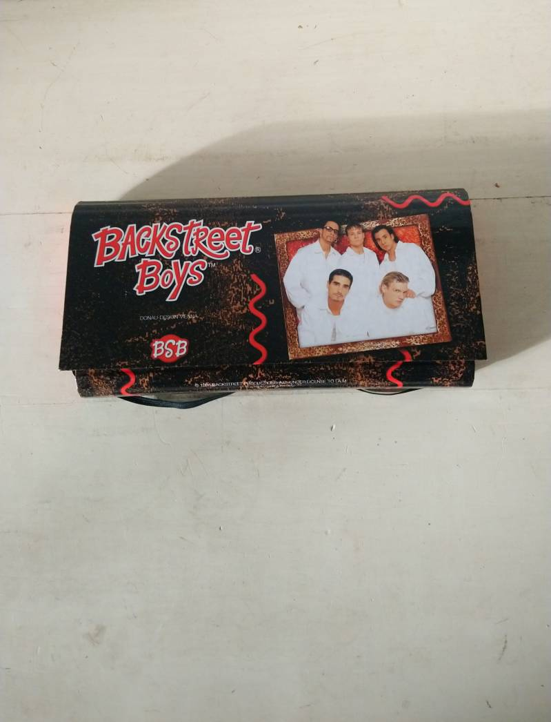 Backstreet Boys BSB etui pennenopberger opberger 1998 / storage container pencil case