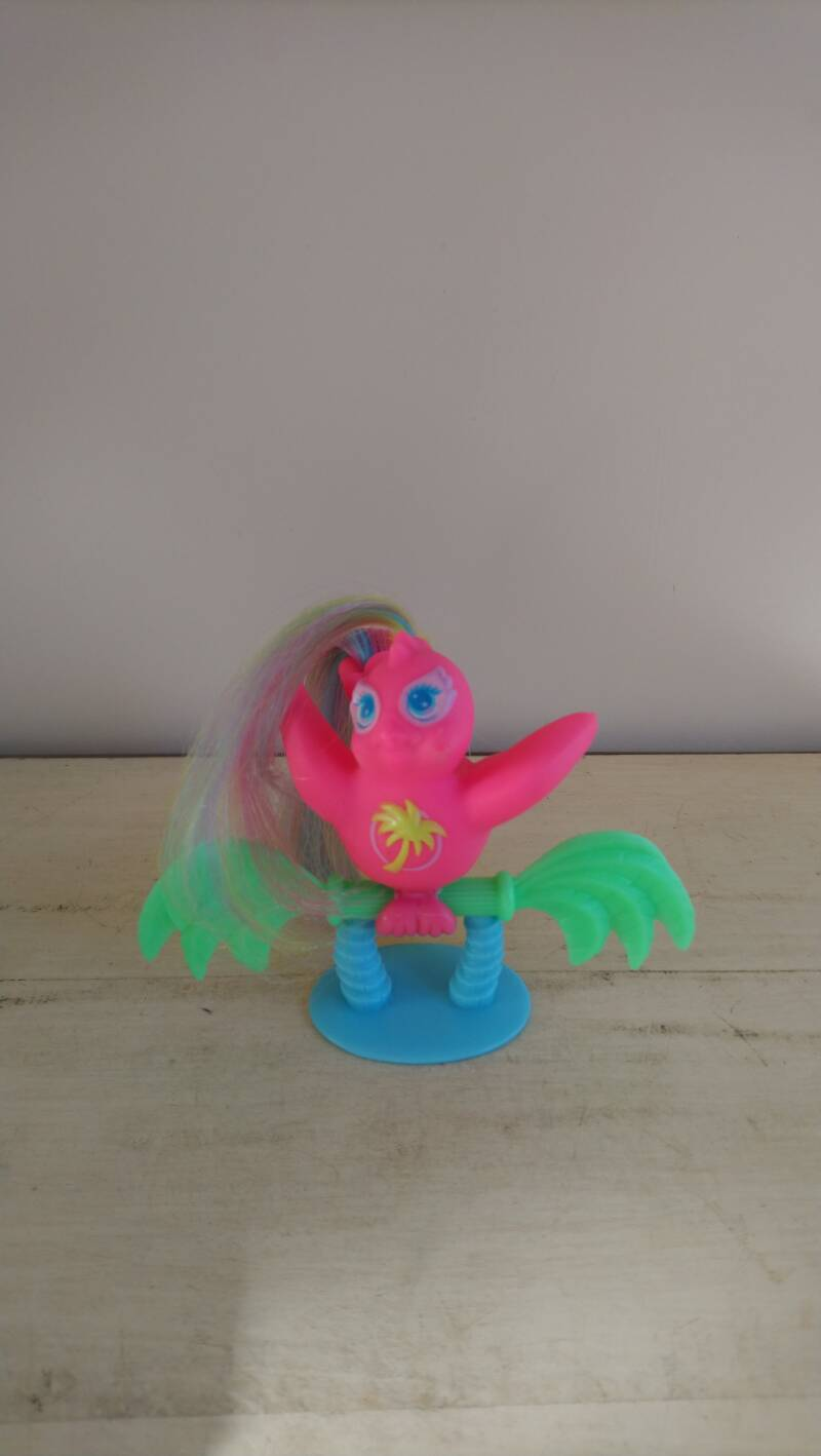 "Vintage Tropical Fairy Tail ""Sea Breeze"" Kuifstaartje Hasbro 1987"