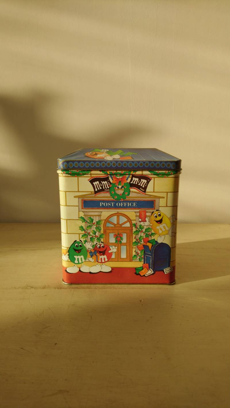 "Blik M&M's ""Letters for Santa"" limited edition tin 1995"