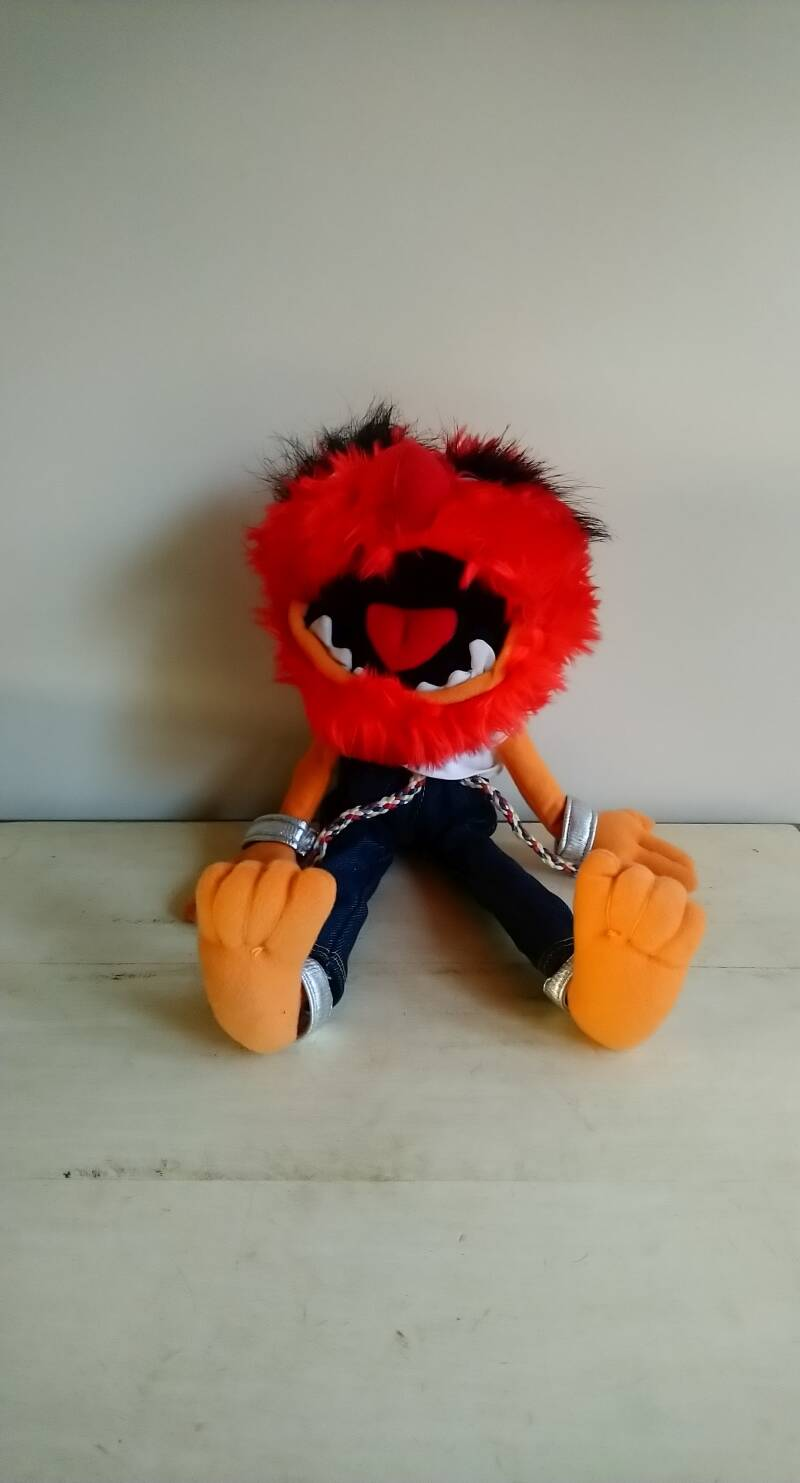"""The Muppets knuffel pluche """"Animal"""""""