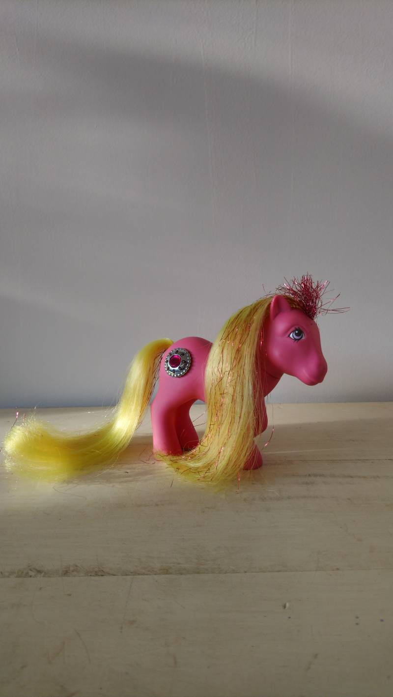 "Vintage My Little Pony G1 ""Princess Sunbeam"" Princess Pony Hasbro 1987"