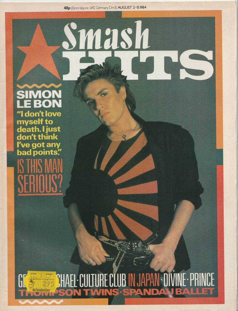 Smash Hits 2 august - 15 august 1984