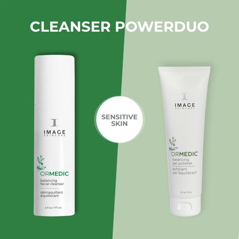 Power duo for sensitive skin