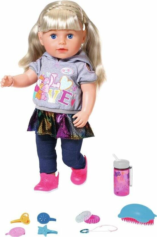 BABY born Soft Touch Sister - Blond - Babypop 43cm