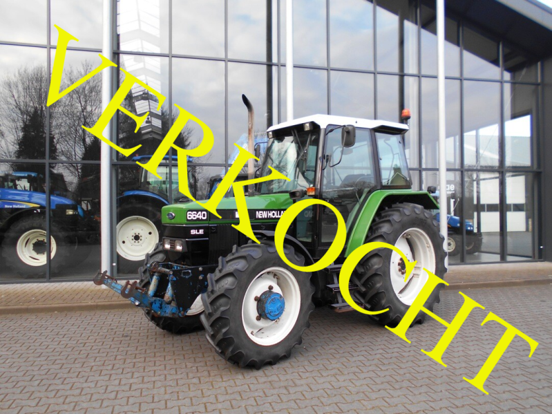 New Holland 6640SLE + fronthef