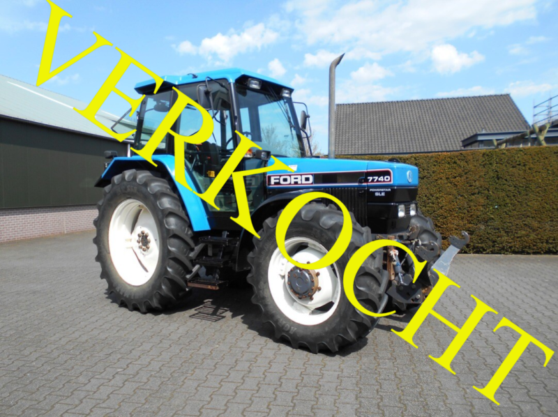 Ford 7740SLE + fronthef