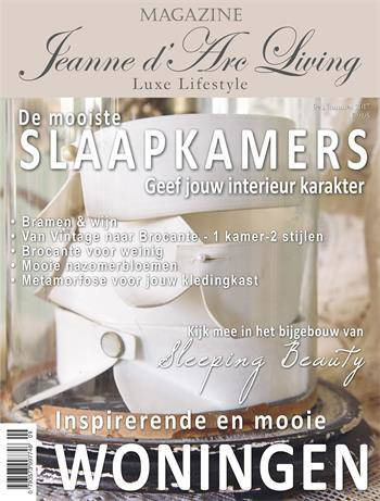 Magazine van Jeanne D 'Arc living september 2017