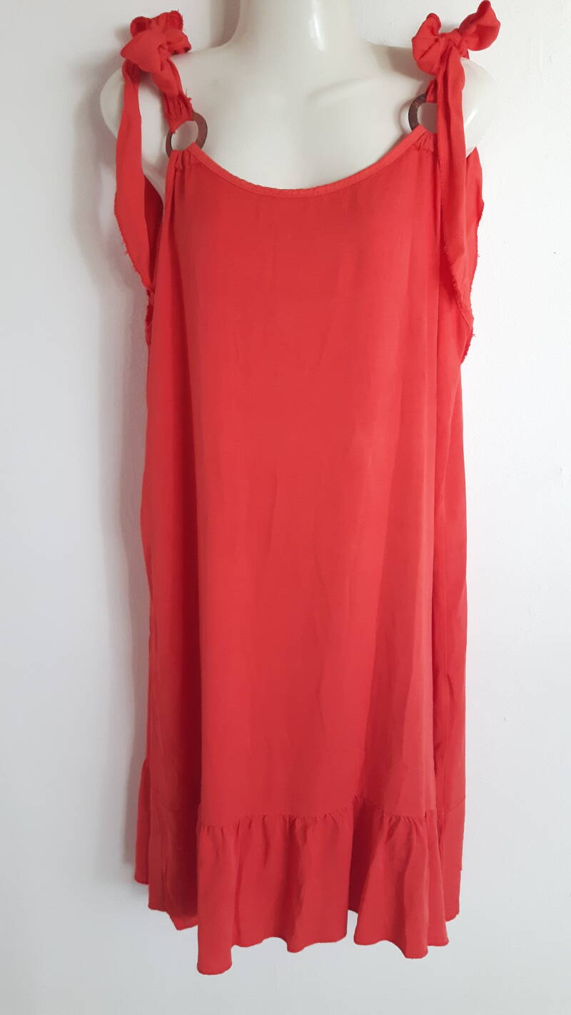 Dress Nuance Koraalrood
