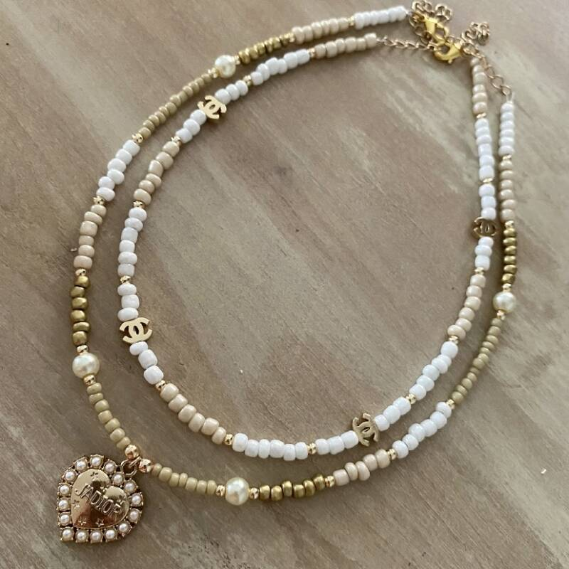 • Inspired necklace set 3